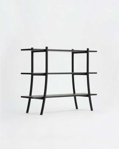 skyladder shelves low sumi ash ariake