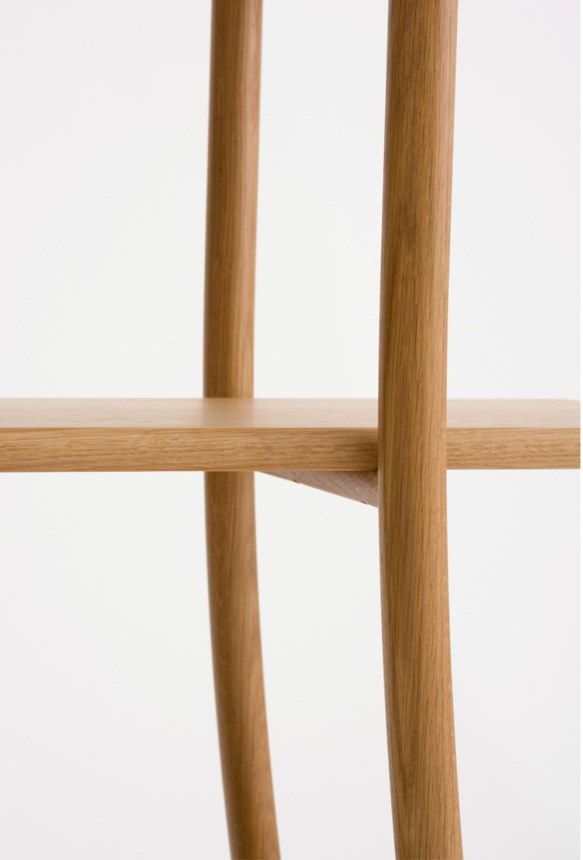 skyladder shelves oak ariake