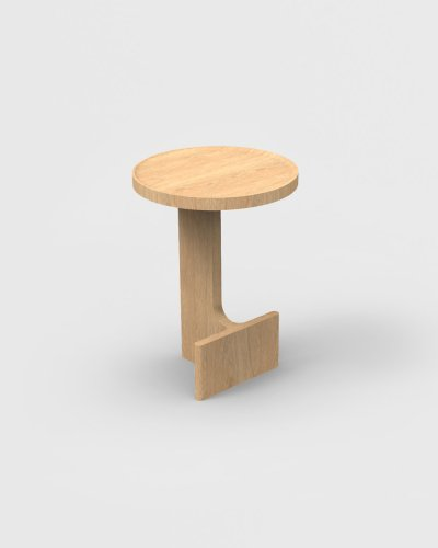 beam side table oak ariake