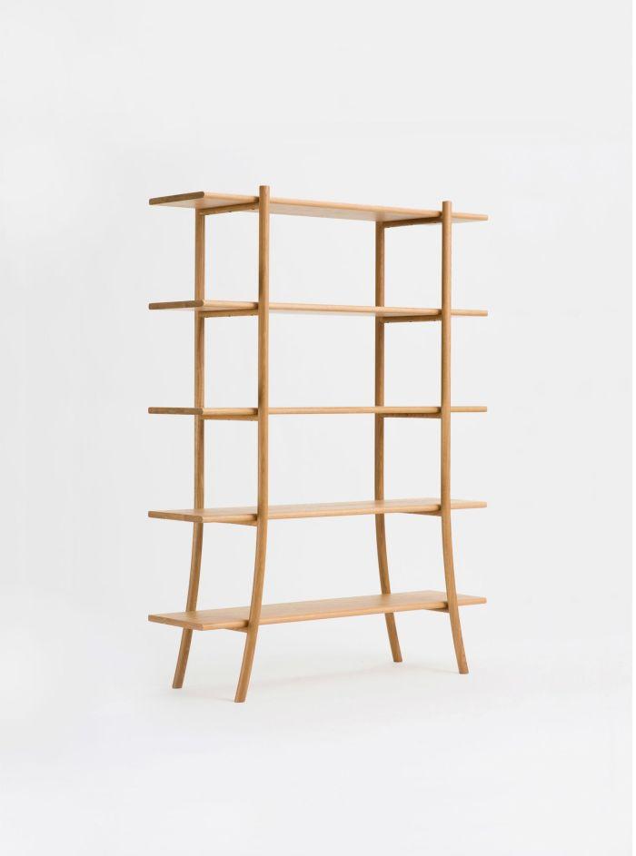 skyladder shelves high ariake