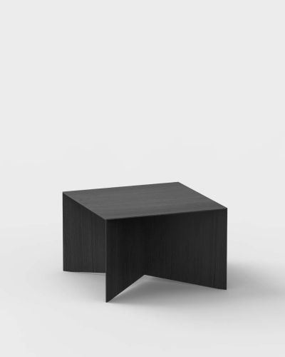 paperwood coffee table ariake sumi ash