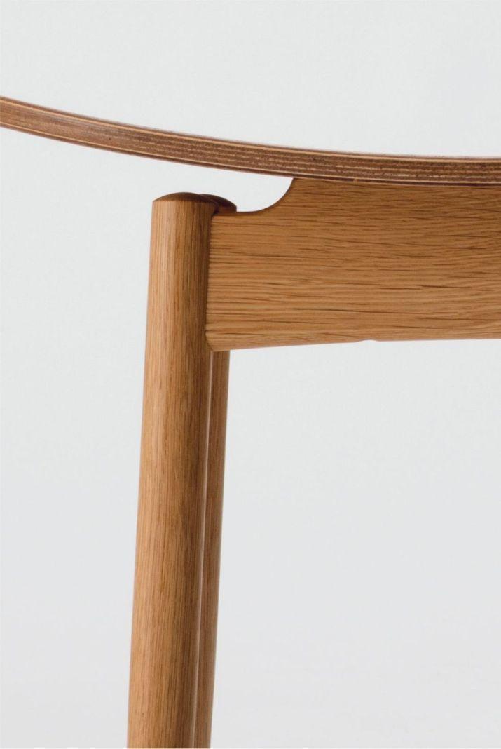 close-up of the saga stool