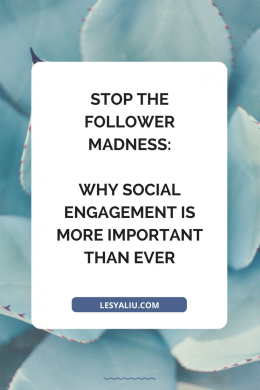 Stop the Follower Madness: Why Social Engagement Is More Important than Ever