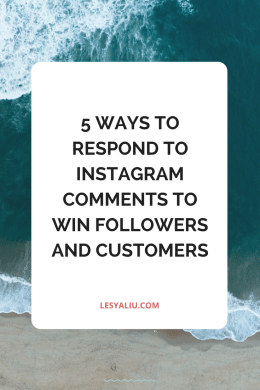 5 Ways to Respond to Instagram Comments to Win Followers and Customers