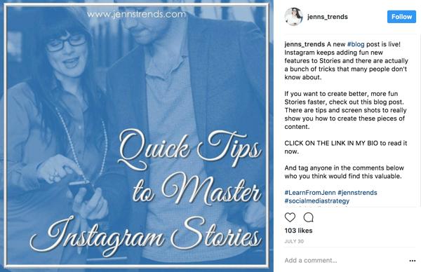 Instagram content