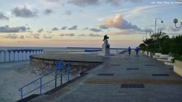 Promenade San Martin, au Crépuscule.