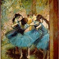 """""""Les danseuses bleues"""" d'Edgar Degas"""