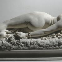 """""""Femme piquée par un serpent"""" d'Auguste Clésinger"""