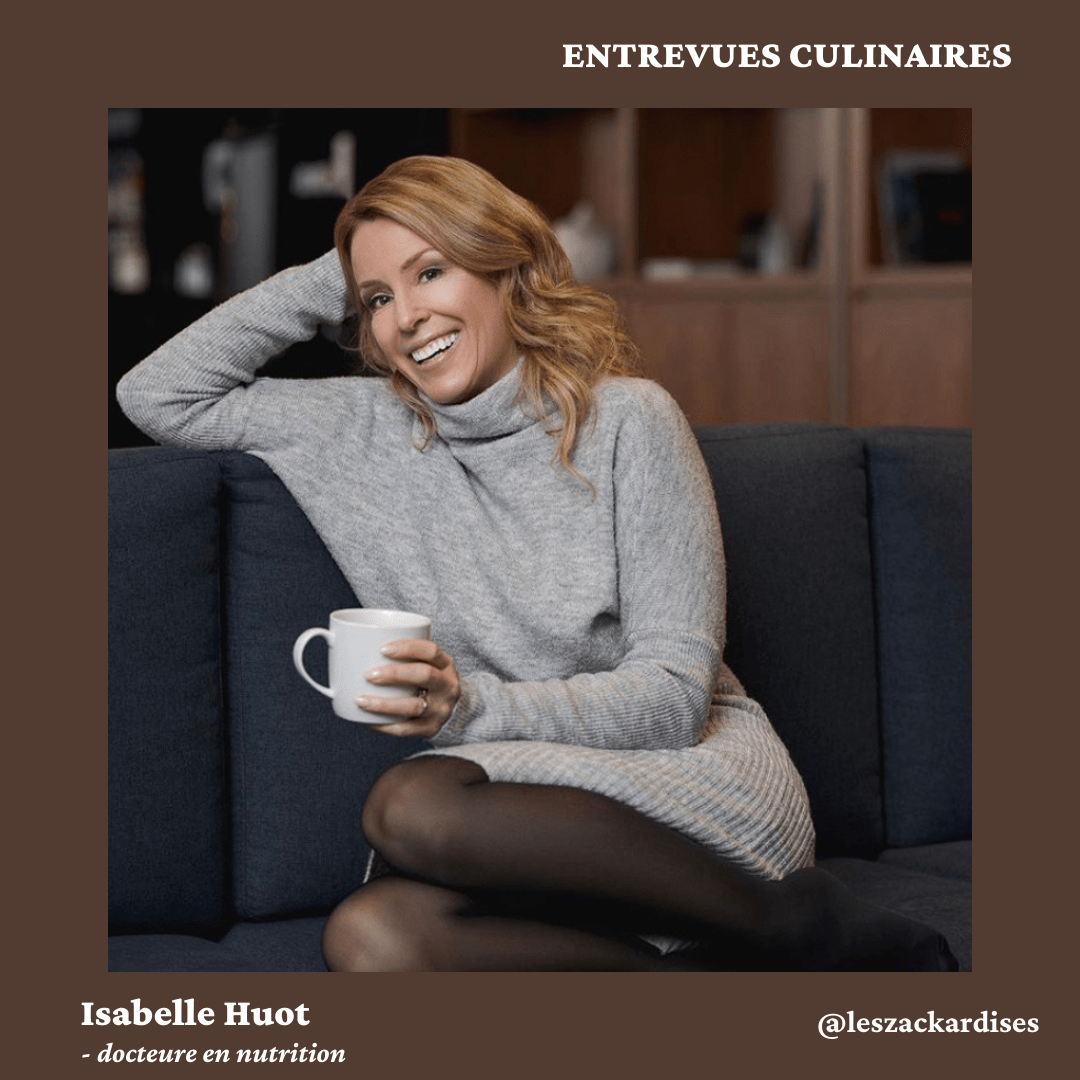 Entrevues culinaires: Isabelle Huot