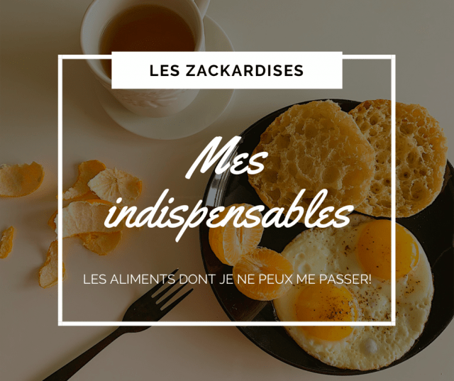 Mes indispensables