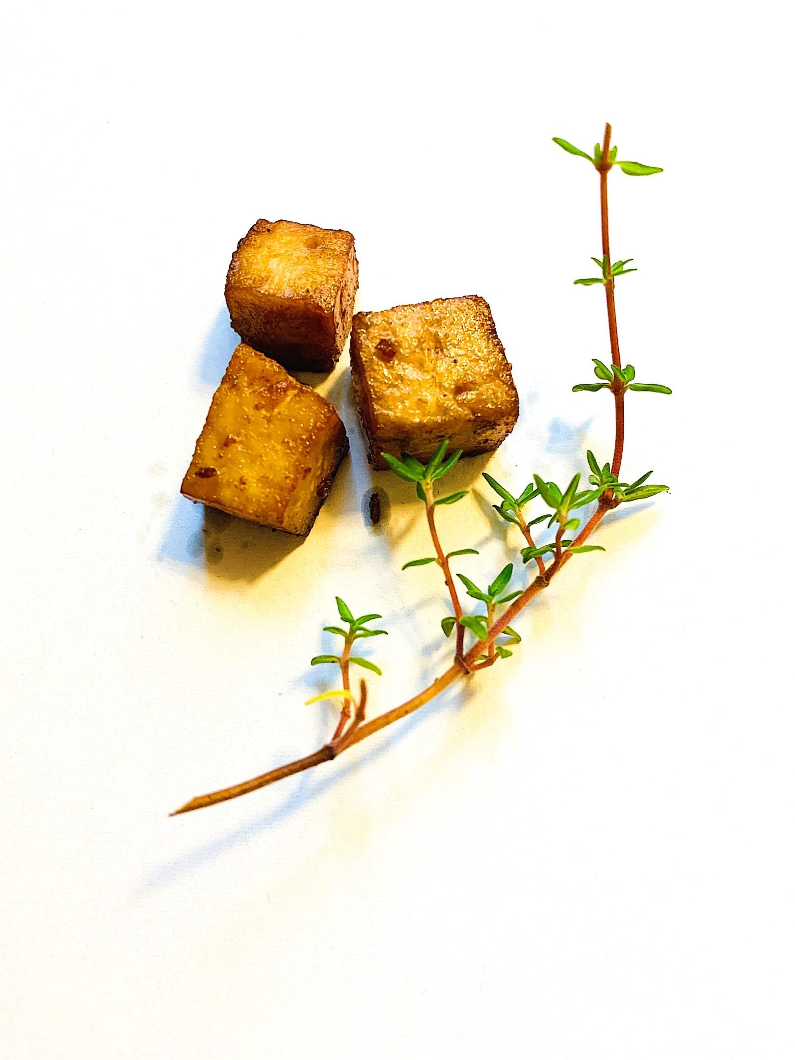 Marinade de tofu express