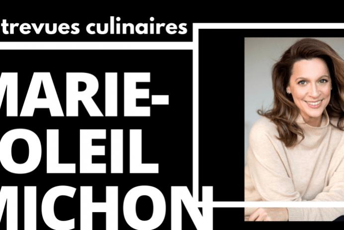 Promo de l'entrevue culinaire avec Geneviève Plante