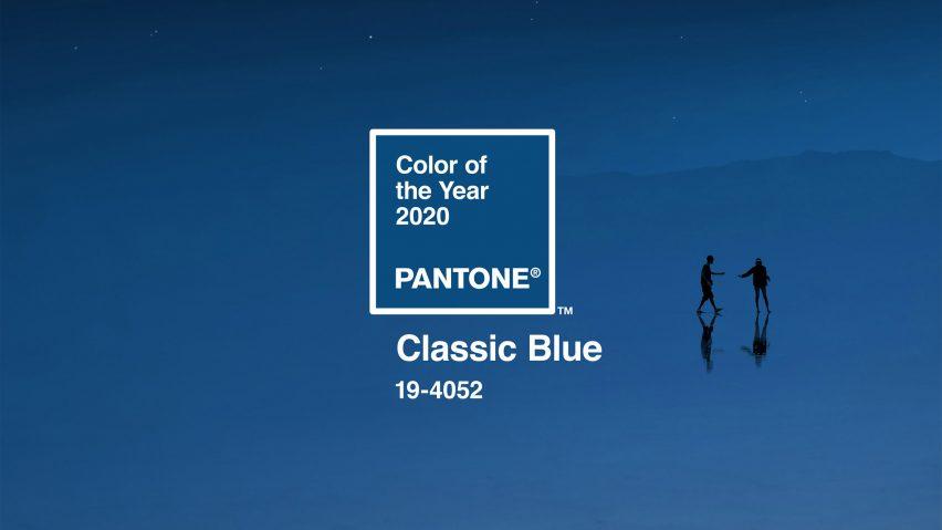 Le bleu classique est la couleur de l'année 2020 selon Pantone