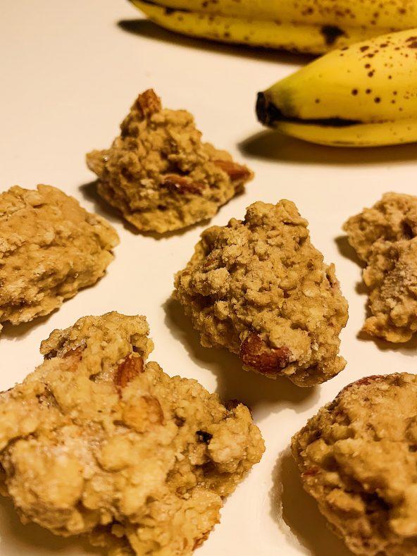 Biscuits aux bananes sans gluten