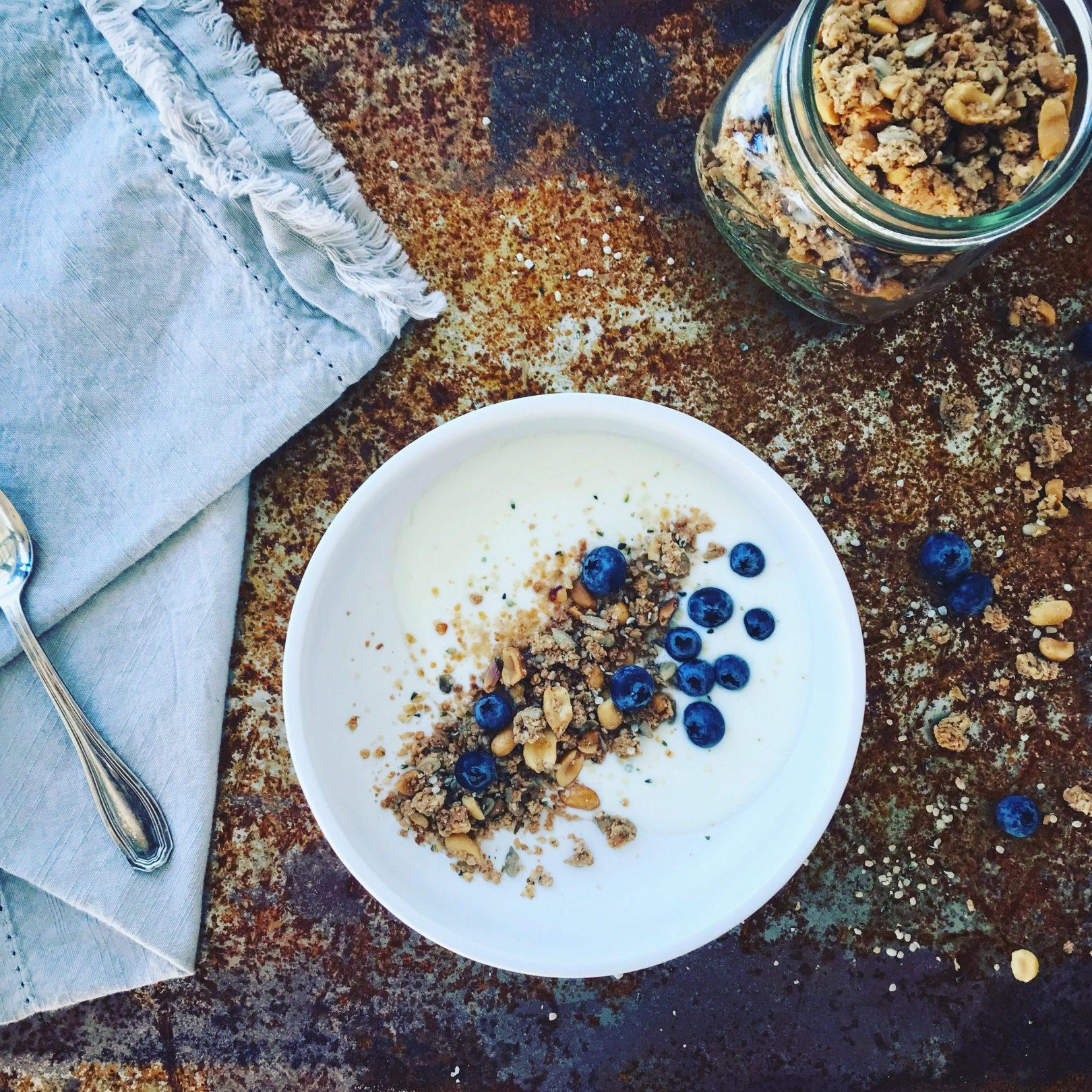 Granola aux arachides