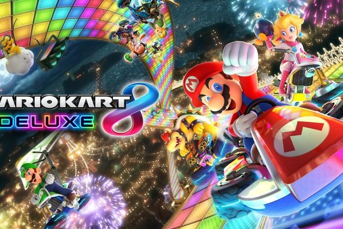 Découvrez Mario Kart 8 Deluxe sur Nintendo Switch!