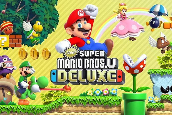 Découvrez New Super Mario Bros U Deluxe sur Nintendo Switch!