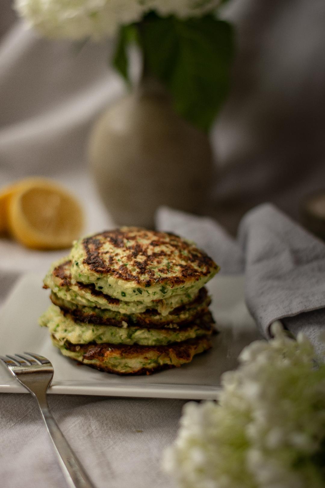 Croquettes de courgettes et fromage Tomme d'Elles