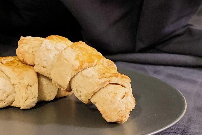 Croissants végétaliens sans gluten