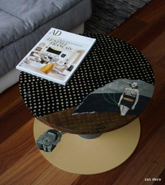table Elle & Lui / Polka Dot (95 euros)