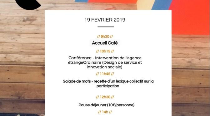 Réseau Urbiscopie – Forum ouvert «Participer ?! Oui, mais COMMENT faire ?»