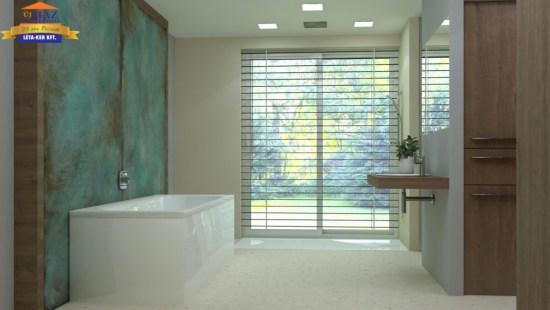 Fürdőszoba látványtervezés Léta-Ker