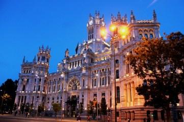 Madrid - Z letalom na poti