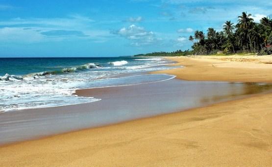 Šrilanka - Z letalom na poti