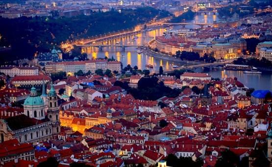 Praga - Z letalom na poti