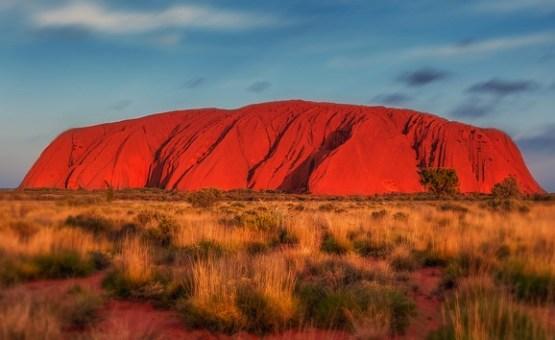 Australia - Z letalom na poti