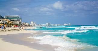 Cancun - Z letalom na poti