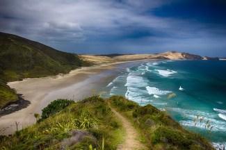 New Zealand - Z letalom na poti