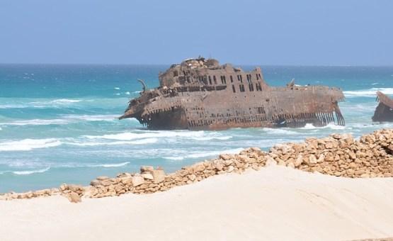 Cape Verde - Z letalom na poti