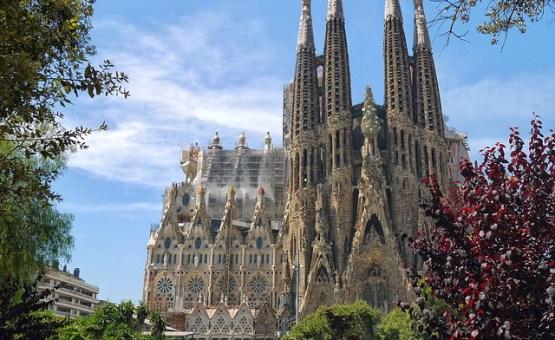 Barcelona - Z letalom na poti