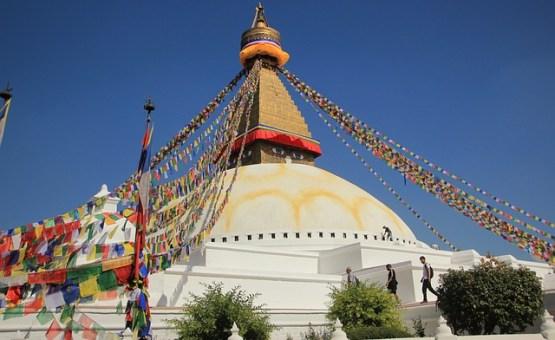 Nepal - Z letalom na poti