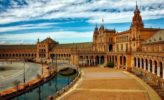 Sevilla - Z letalom na poti
