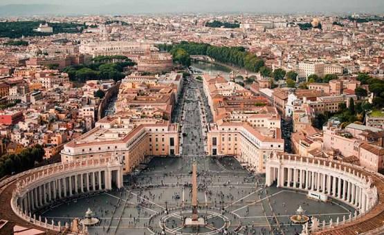 Rim - Z letalom na poti