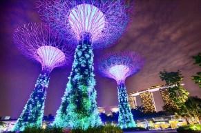 Singapore - Z letalom na poti