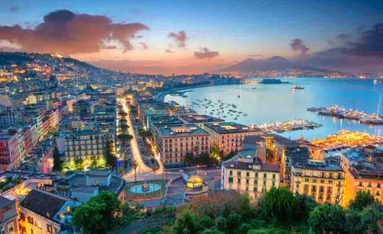 Neapelj - Z letalom na poti