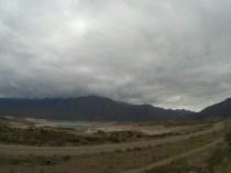 Au départ de Mendoza, le ciel est gris