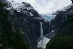 Jusqu'au glacier de Queulat