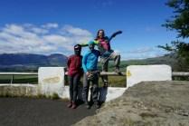 La triplette arrive à Coyhaique