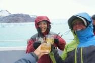 Autour d'un cocktail Whisky-Glacier