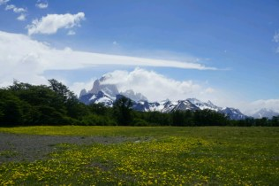 ... au pied du massif du Fitz Roy