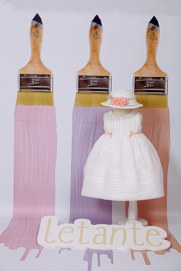 βαπτιστικό φόρεμα   letante   8020