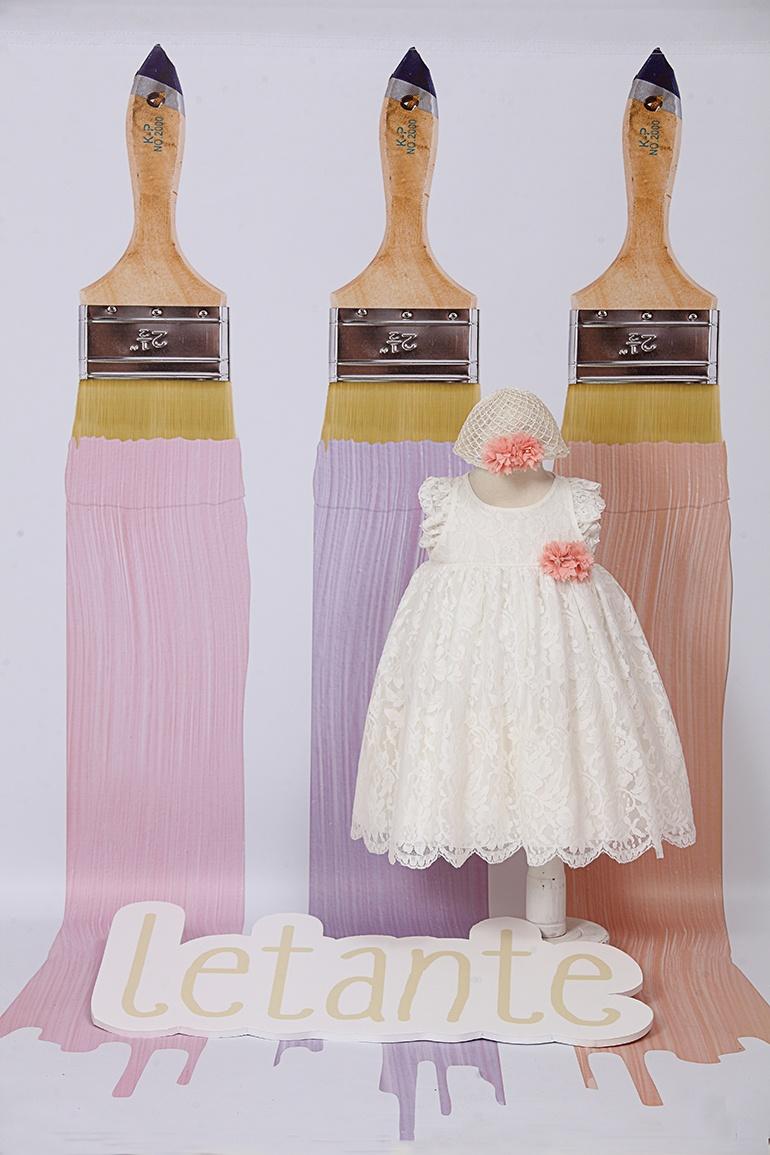 βαπτιστικό φόρεμα | letante | 8025