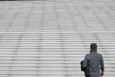 Esplanade de la Défense, 2 juin 2014, 9:49
