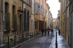 Une rue d'Aix-en-Provence, 19 janvier 2014, 12:32