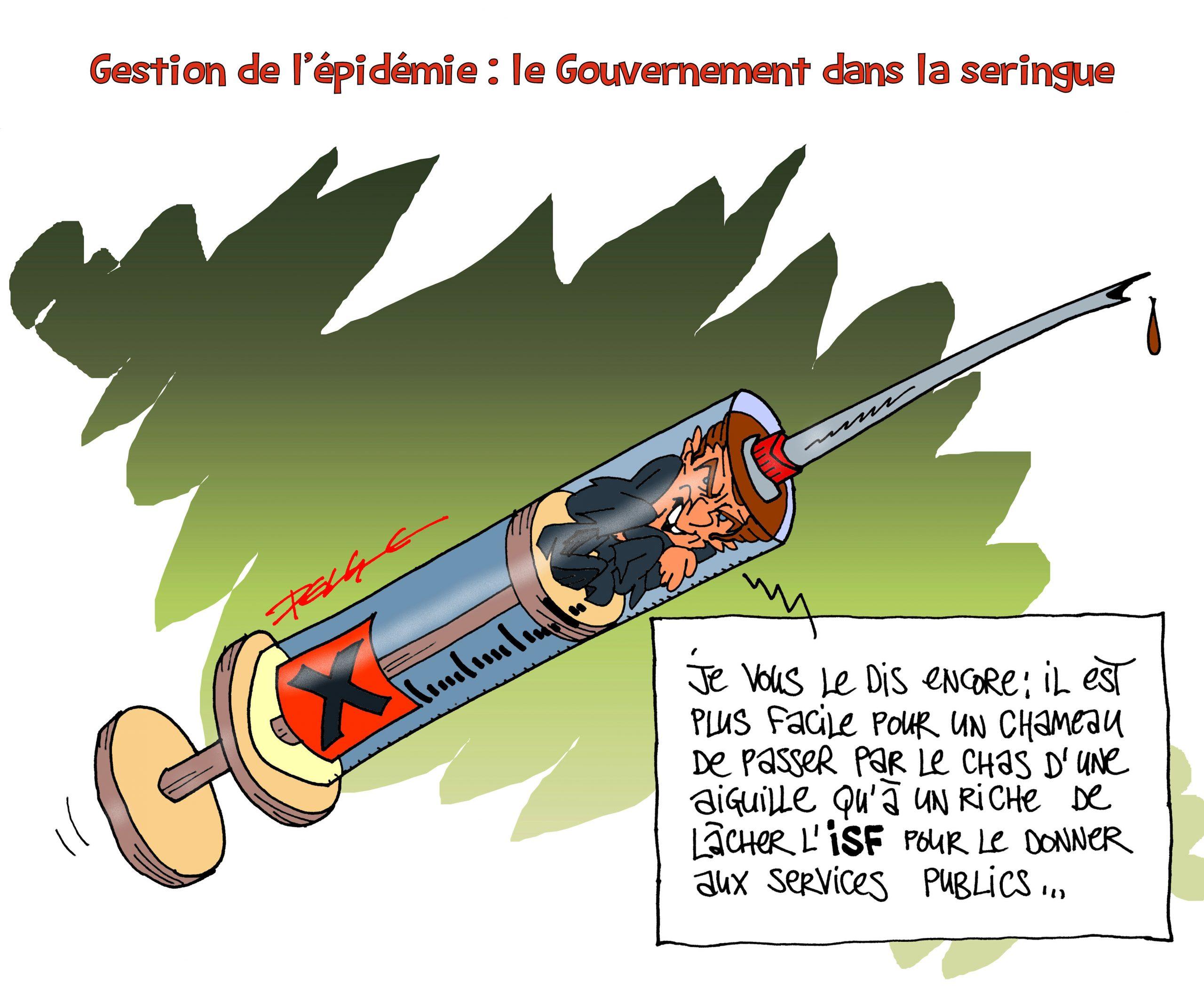 Macron : la débâcle !