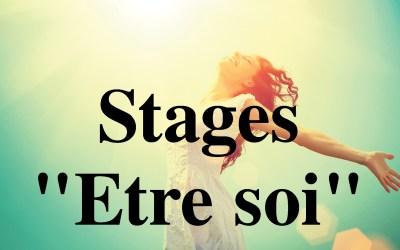 Stages «Etre soi»